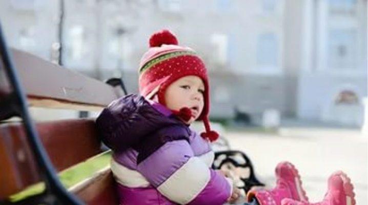 Детские зимние cапоги-дутики для девочки и мальчика