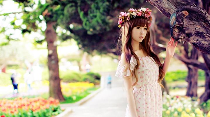 Корейский стиль одежды для девушек