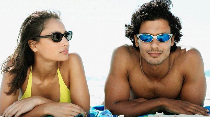Модные очки от солнца - защита глаз в солнечную погоду