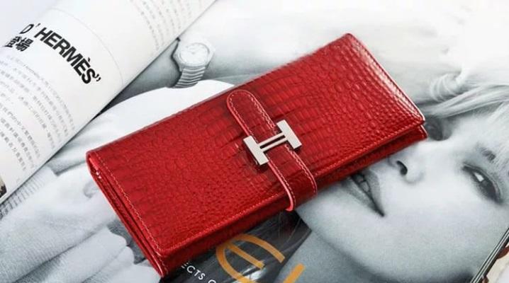 1eddeeb737d6 Женский кожаный кошелек (131 фото): портмоне из натуральной кожи ...