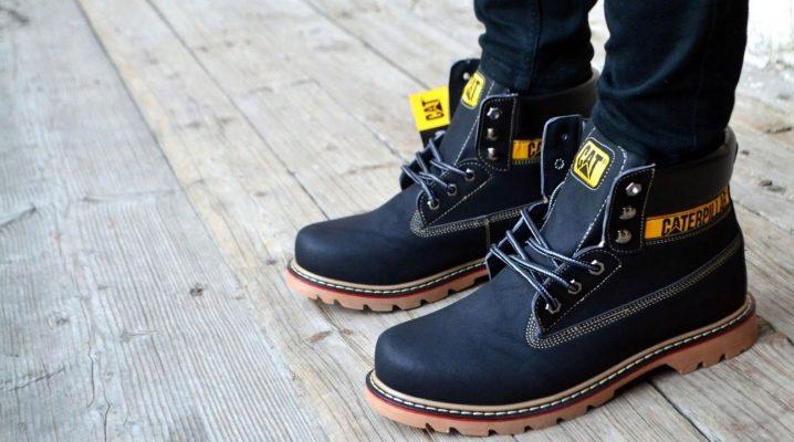 f0c4b3343 Мужские ботинки Caterpillar: модели, осенние ботинки, отзывы