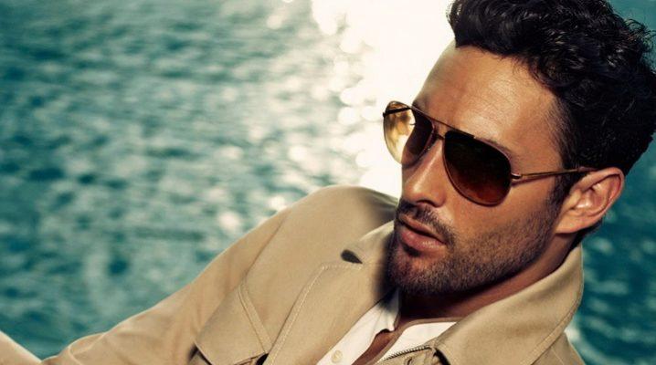 Мужские брендовые солнцезащитные очки