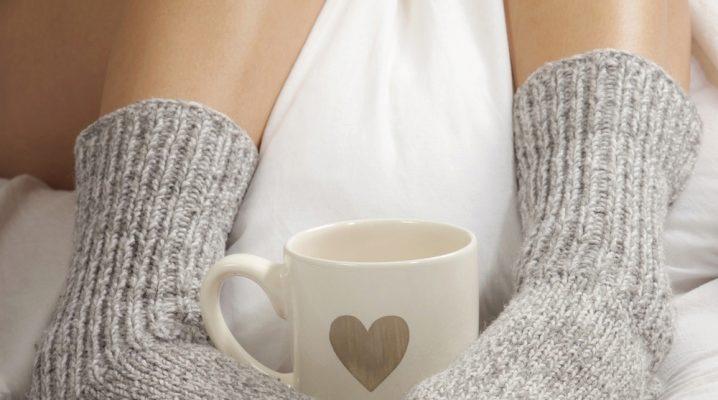 Собственоручно cвязанные носки – лучший способ порадовать близких