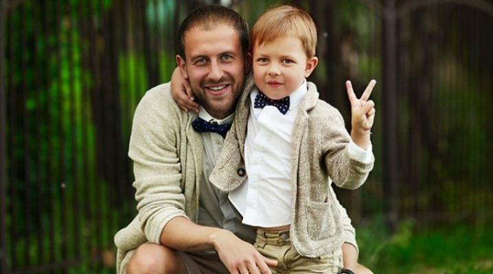 Как завязать детский галстук на резинке?