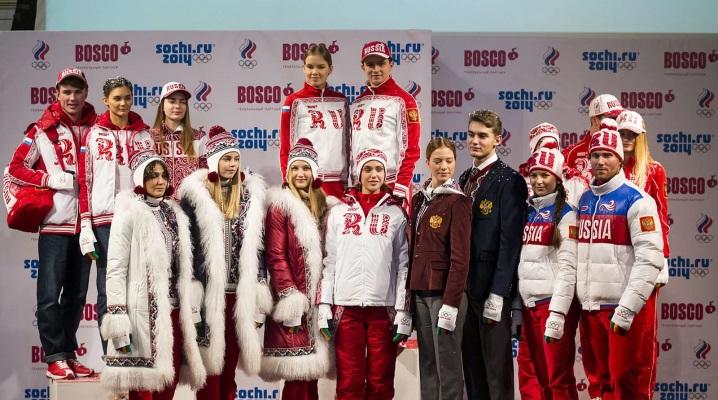 Одежда сборной России