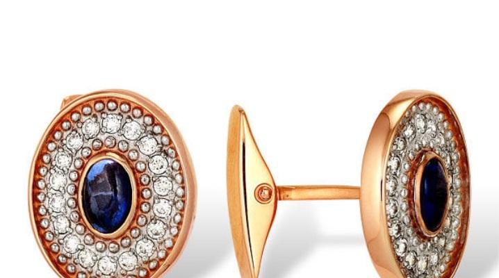 Золотые запонки  – нотка роскоши в образе мужчины
