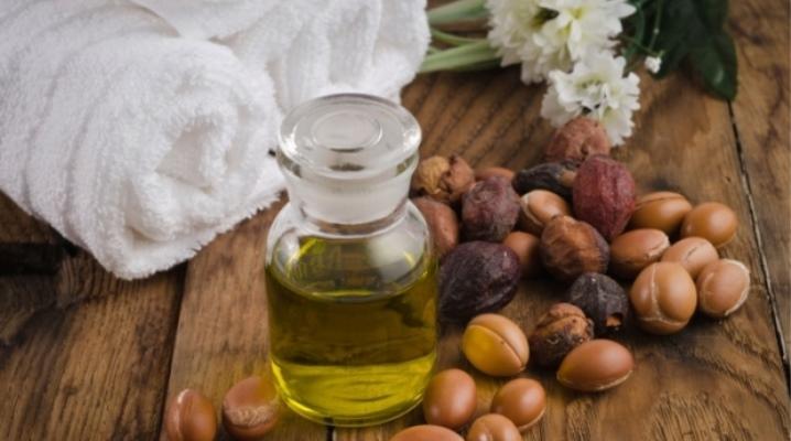 Аргановое масло для волос от известных брендов