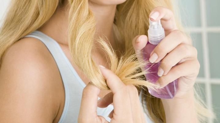 Увлажняющие спреи для волос