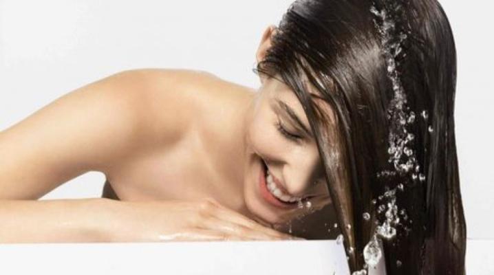 Как смыть масло с волос