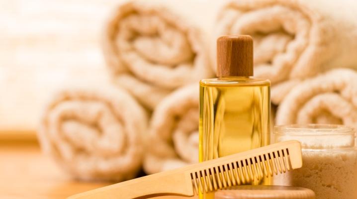 Увлажняющее масло для волос
