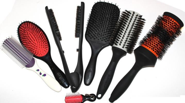 Виды расчесок (35 фото): комбинированная расческа-щетка, бомбаж для волос и другие расчески