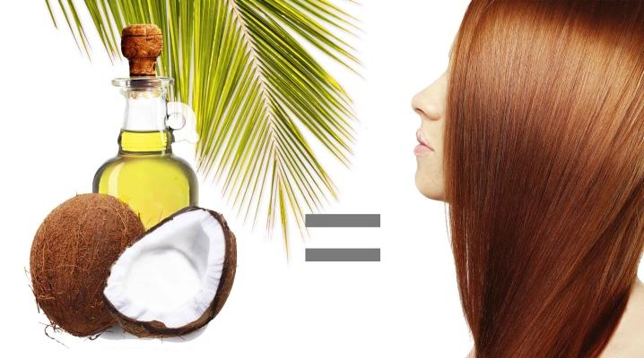 Восстанавливающие маски для волос с кокосовым маслом