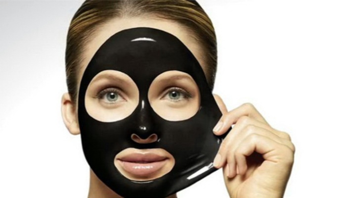 Черная маска от черных точек