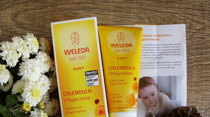 Детский крем Weleda: средство с календулой для лица, Calendula Baby для детей, отзывы
