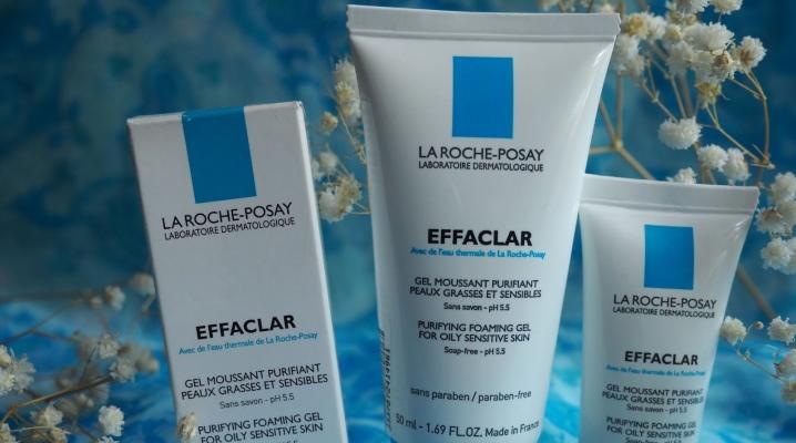 Гель для умывания La Roche Posay; Effaclar: очищающий пенящийся крем, отзывы
