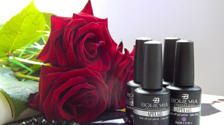 Гель-лак Bohemia: палитра цветов для ногтей серии Professional Apex Gel, отзывы мастеров
