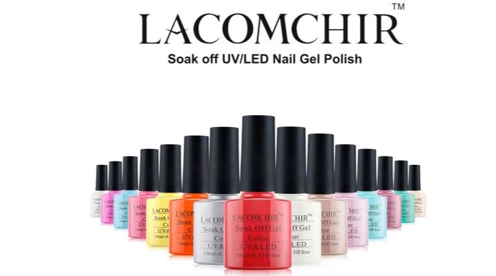 Гель-лак Lacomchir: палитра цветов, выкраска на типсы, отзывы мастеров