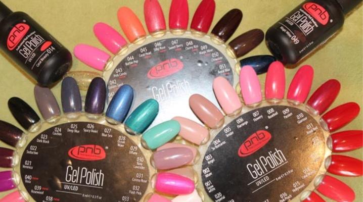 Гель-лак PNB (31 фото): палитра цветов на ногтях, отзывы мастеров и покупателей
