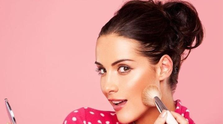 Как наносить румяна на круглое лицо? 18 фото: как правильно нанести, схема