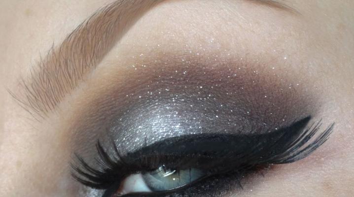 Как сделать макияж с серыми тенями?