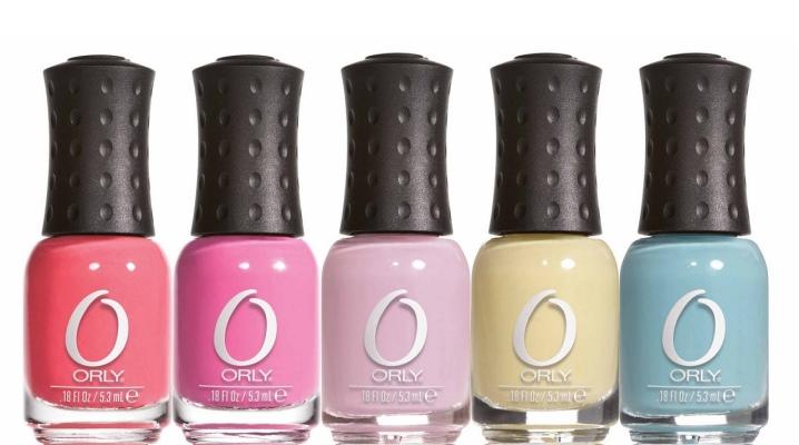 Лак для ногтей Orly: палитра цветов гель-лака, отзывы