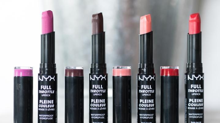 Матовая губная помада Nyx (43 фото)  оттенки на губах Matte Lipstick ... 1b0e06747f11b