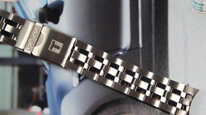 Металлический браслет для часов