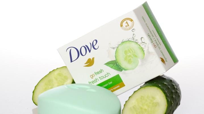 Мыло Dove