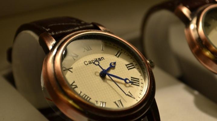 Наручные часы российского производства