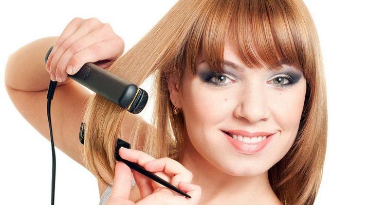 Керамические утюжки для выпрямления волос