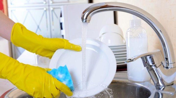 Как отмыть посуду до блеска?