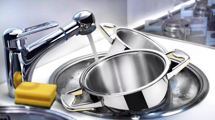 Как отмыть пригоревшую кастрюлю из нержавейки?