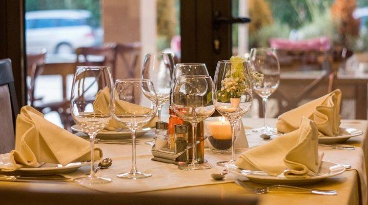 Как сложить тканевые салфетки для сервировки стола?