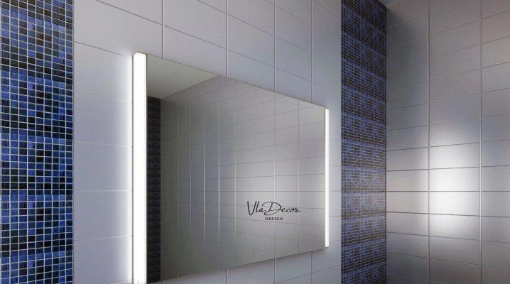 Настенное зеркало с подсветкой для макияжа: преимущества и недостатки
