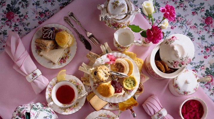 Чайный стол: особенности сервировки