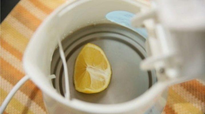 Как почистить чайник лимонной кислотой?