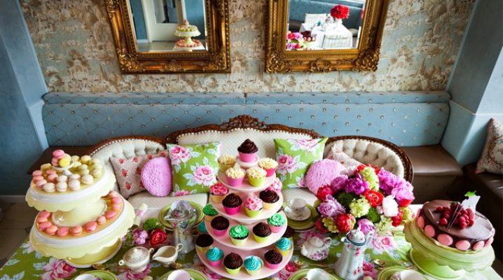 Сервировка стола на день рождения: красивые и оригинальные идеи