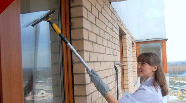 Правила выбора швабры для мытья окон
