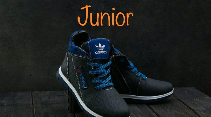 Зимние кроссовки для мальчиков и девочек
