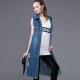 Длинная безрукавка для женщин - обзор модных моделей
