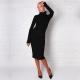 Платье-водолазка – создайте неповторимый образ