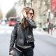 Кожаные женские весенние куртки 2019