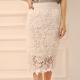 Кружевная юбка – женственность и легкость образа