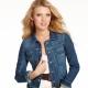 С чем носить короткую джинсовую куртку?