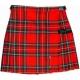 Шотландская юбка в гардеробе модниц