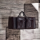 Стильные кожаные дорожные сумки