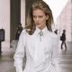 Женская белая рубашка 2017 года
