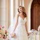 Белое свадебное платье 2017 - стильная классика