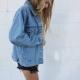 Джинсовая куртка Oversize: модные образы