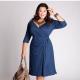 Модные платья для полных женщин 2018 года